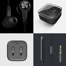 Xiaomi Piston 3 Earphones Earbuds In Ear With Mic Remote Wire Control black