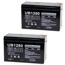 UPG 2 Pack - 12V 8Ah Razor E300S, E 300 S Electric Scooter Battery