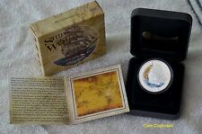 "2011-2012 TUVALU - (5 COIN SET) ""Ships that changed the World"" .999 silver"