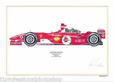 Michael Schumacher ltd.ed.artprint-2004 Ferrari 2004