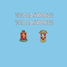 W.F. Holdsworth Bicycle Decals-Transfers-Stickers #10