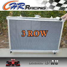 3 ROW 52MM FOR Aluminum Radiator NISSAN SKYLINE S13 CA18 R32 RB20