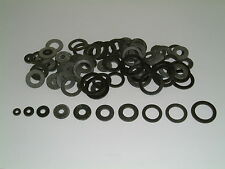 100 Assorted Rubber Washers M2/M3/M4/M5/M6/M8/M10/M12/M14 and M16