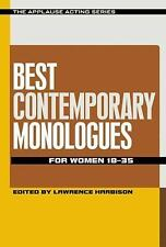 Best Contemporary Monologues for Women 18-35,