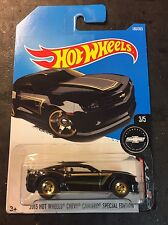 2017 Hot Wheels '13 Camaro Special Edition Super CUSTOM with Gold Real Riders