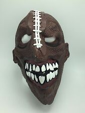 Adult/Teen OSFM Scary FOOTBALL HEAD Mask Teeth Fanatic Super Bowl Halloween