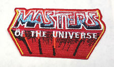 "He-Man Masters Of The Universe Logo 3"" Embroidered Patch-FREE S&H (ANPA-HEMAN)"