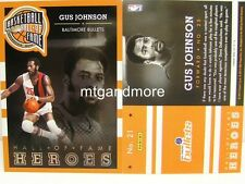Panini nba (Adrenalyn XL) 2013/2014 - #021 Gus Johnson-Hall of Fame Heroes