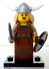 Lego Minifigure - Viking Woman (Minifig Series 7  2012)