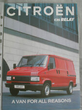 Citroen C25 Relay brochure Oct 1992