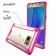 Poetic Samsung Galaxy Note 5 [Affinity Series] Shockproof Bumper Pink Case 2015