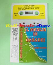 MC Il meglio di CASADEI vol.2 italy UNI FUNK UFK 325 raoul no cd lp dvd vhs