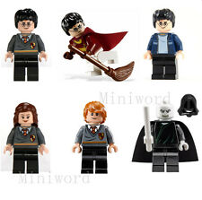 6pcs Harry Potter Hermione Ron Minifigures Lord Voldemort Character Toy