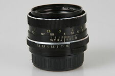 "Carl Zeiss 1,8/50mm Planar QBM Baj. #5502102 ""Made in Germany"" auch für Digitale"