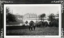 Coleraine Bridge Londonderry sepia unused RP old pc Herald Series Good