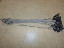 """1 DZ. Earth Anchors W/ 18""""  3/32nd Cable  Unplugged   Traps  Trapping Coyote"""
