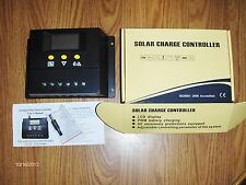60 AMP Intelligent Charge Controller  digital display  PWM charging 12/24 volt