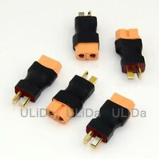 5X Deans T-Plug Male connector to XT60 Female connector Lipo/NiMH Adapter RC