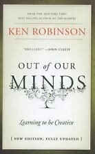 Out Of Our Minds Learning To Be Creative New Edition Ken Robinson Book