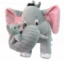 Tickles Gray Mother Elephant with her two Babies 42 cm AT-ST268
