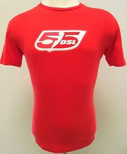55DSL Tee SHIRT XL Red MENS Men SIZE Sz COTTON Solid FiftyFiveDSL Man T DIESEL**