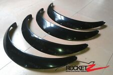 JDM Universal Fender Flares w/ Rivet Pockets 4PCs FULL SET USA Canada