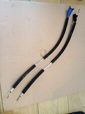 AUDI 80 CABRIOLET /COUPE, PASSENGER AND DRIVERS  DOOR LOCK CABLES