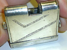 "KASCHIE ""K16"" ALPACCA SILVER SQUEEZE LIGHTER - QUETSCHZÜNDER - 1931 - GERMANY"