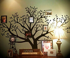 Huge Extraordinary 8' Foot x 9' Foot BIG Removable Family Photo Tree Wall Decal
