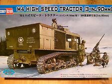 Hobbyboss 1:35 M4 High Speed Tractor (3-in./90) U.S. Military Vehicle Model Kit