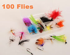 100 PCS FLIES HOOKS FOR FISHING FLY FISHHOOK 2015
