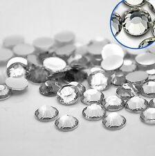 500pcs 1.5mm Crystal Clear Acrylic Rhinestone No-Hotfix Nail Art AVANT CRYSTAL