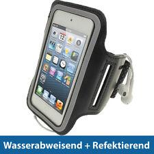 Schwarz Sports Armband für Apple iPod Touch 6. & 5. Generation 5G 6G Joggen Case