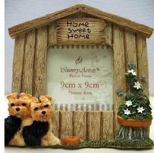 COUNTRY ARTISTS DOGS - YORKSHIRE TERRIER FRAME, ITEM 90760