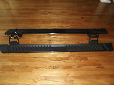 "2015-2016 Ford F150 crew cab step side bars oem running boards 6"" gray factory"