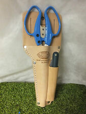 Barnel Tools Leather Holster scissors tools garden greenhouse knife marker pen