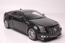 Cadillac CTS coupe car model in scale 1:18 black
