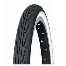 Cubierta Michelin 20x1-3/8 Diabolo City Blanca/Negra Bici Bicicleta