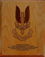 Personalized 22 Special Air Service Regiment Plaque, SAS, custom military gift