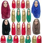 ♡♡ JERSEY ♡♡ Maxi Big Large Scarf Wrap Hijab Sarong Fashional Latest UK GltrScrf