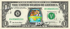 Scooby Doo TV Mystery Machine on a REAL Dollar Bill Cash Money Collectible Bank