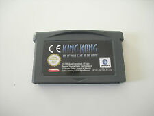 King Kong The official Game of Movie.Pal Eur. Nintendo Gameboy Advance. Game Boy