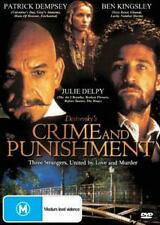 CRIME & PUNISHMENT - PATRICK DEMPSEY BEN KINGSLEY DRAMA NEW DVD MOVIE SEALED