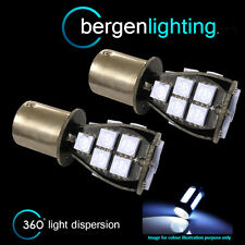 382 1156 BA15s 245 P21W WHITE 18 SMD LED HI-LEVEL BRAKE LIGHT BULBS HBL201201