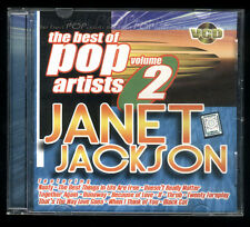 PHILIPPINES:JANET JACKSON - Songs AS POPULARIZED By,VCD KARAOKE.Best Pop Vol.2