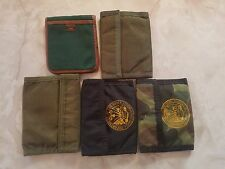 (LOT of 5) military wallets ARMY