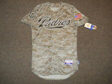 San Diego Padres Camo Authentic Cool Base Jersey sz 40 Majestic Military Mens SD