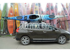NEW! SPORTS SMALL KAYAK RACK WITH STRAPS t rack canoe sit on top roof rack