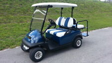 2014/2016 Club Car 4 Pass Street Legal Lites Hi Spd BLUE Precedent Golf Cart FL