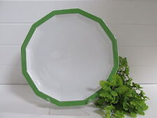 1970s Polygon Sunion by ROSENTHAL- Continental Green Dinner Plate